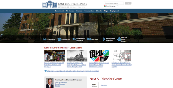 Kane County Workforce Development Home Page