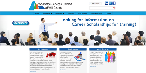 Workforce Services Division of Will County Home Page