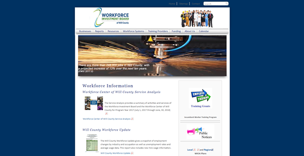 Will County Workforce Investment Board Home Page