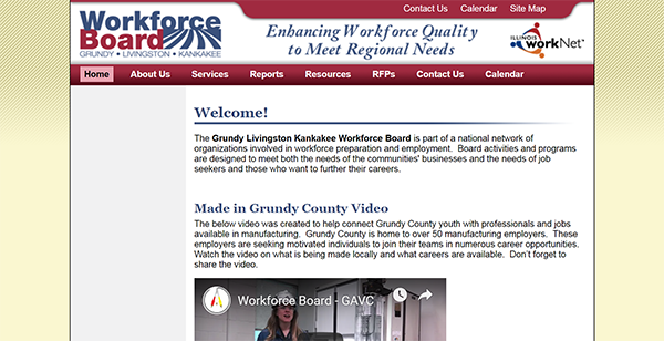 Grundy, Livingston and Kankakee Workforce Board Home Page