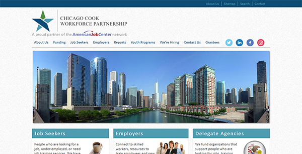 Chicago Cook Workforce Partnership Home Page